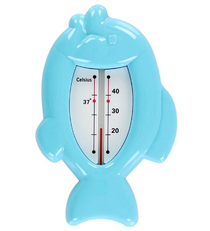 Billede af Oopsy Badetermometer - Fisk - Blå