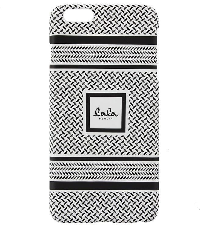Billede af Lala Berlin Mobilcover - iPhone 6+ - Black/White