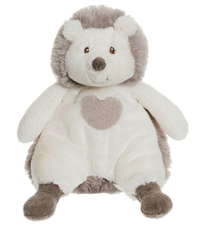 Teddykompaniet bamse - lille pindsvin - 20 cm - creme/lysebrun fra teddykompaniet på kids-world