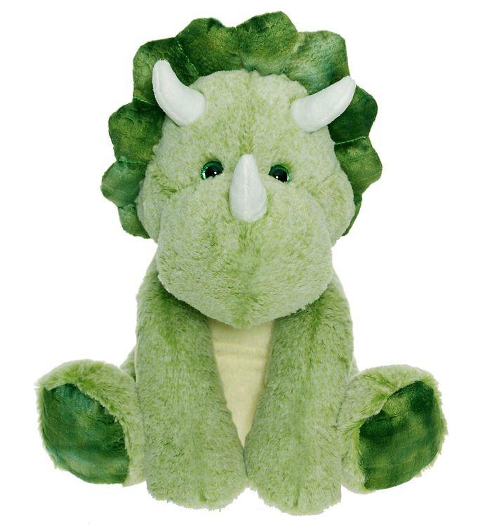 teddykompaniet Teddykompaniet bamse - stor dinosaur - 36 cm - grøn fra kids-world