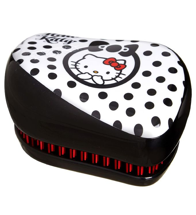 Image of Tangle Teezer Hårbørste - Compact Styler Hello Kitty - Black (ØM126)