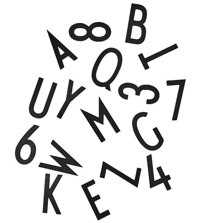 Billede af Design Letters Bogstaver - XL - Sort