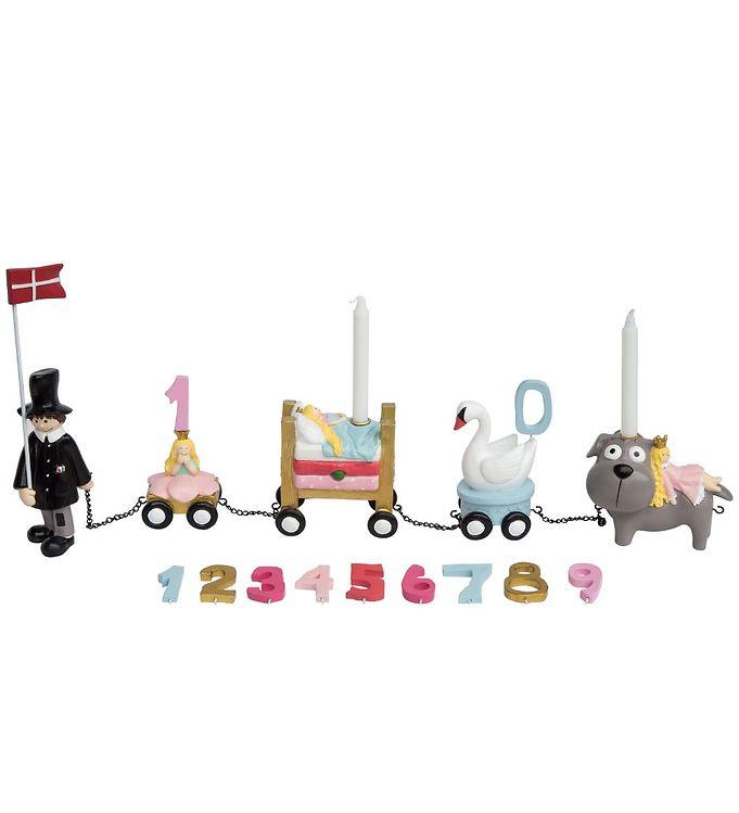 Billede af Kids by Friis Fødselsdagstog - Eventyr Pige