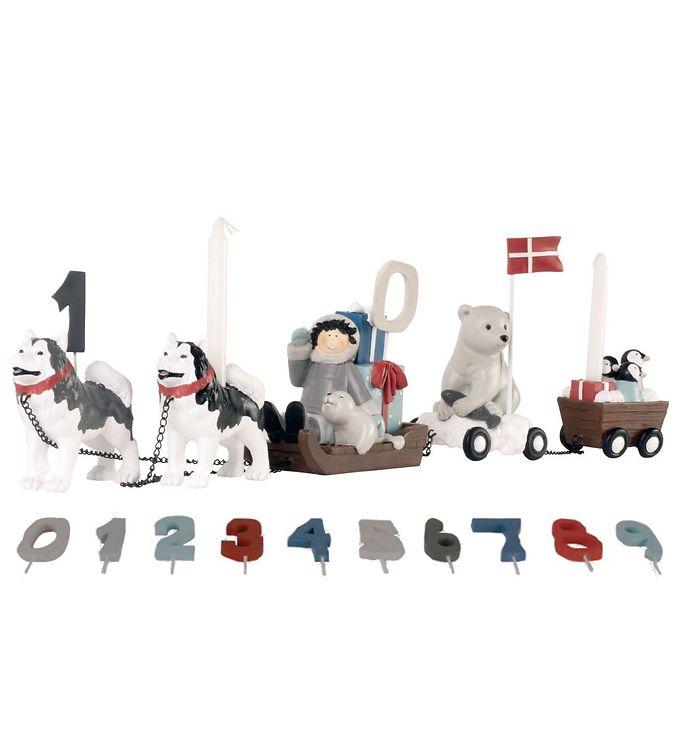 Billede af Kids by Friis Fødselsdagstog - Hundeslæde