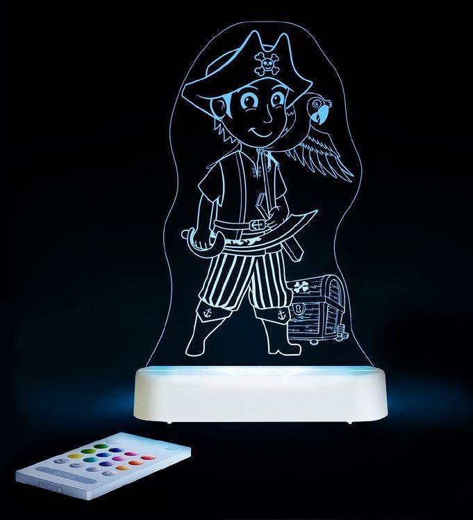 Image of Aloka Natlampe - Sleepy Lights - 20x13 - Pirat (ØM363)