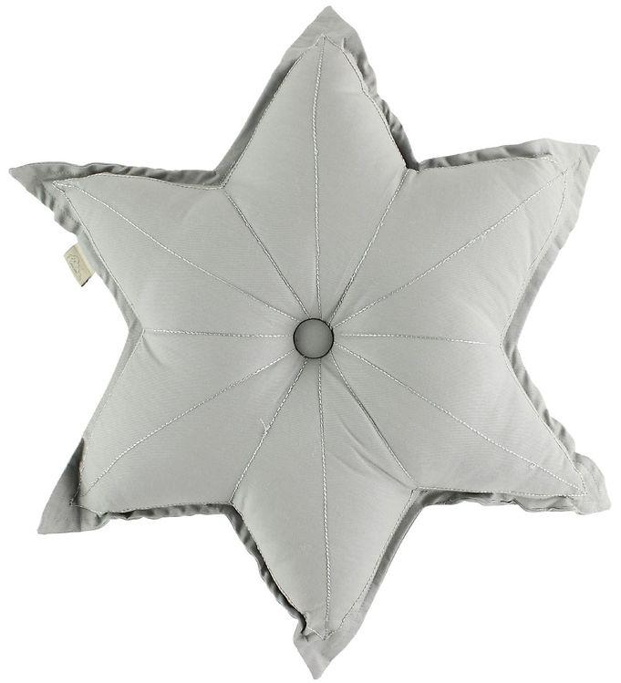 Image of Cam Cam Pude - Stjerne - Ø48 cm - Grey (ØM444)