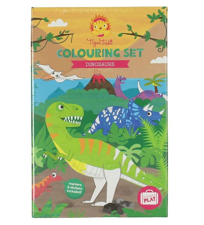 Tiger Tribe Farvesæt – Dinosaurs