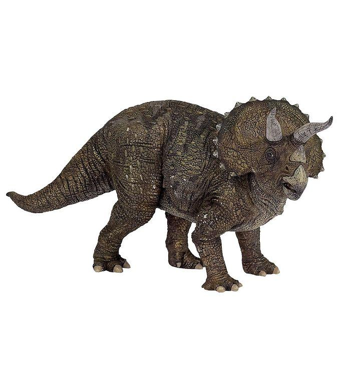 Papo triceratops - h: 12 cm fra papo fra kids-world