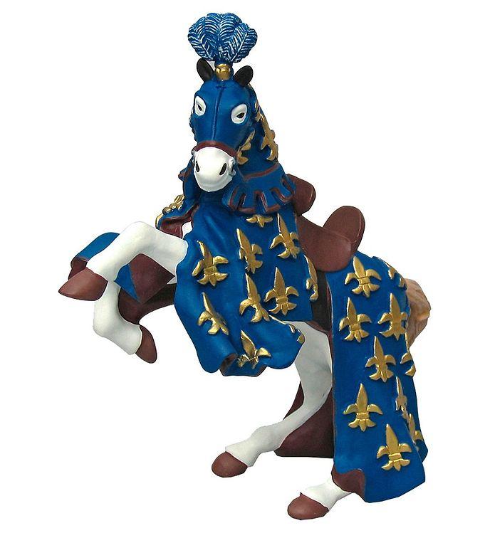 Billede af Papo Blå Prins Philip Hest - H: 8 cm
