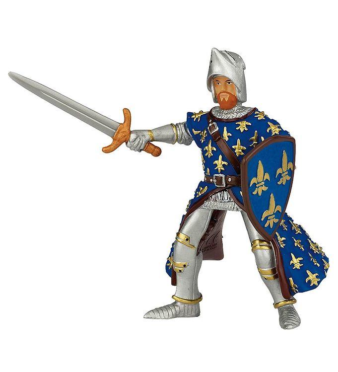 Billede af Papo Blå Prins Philip - H: 9 cm