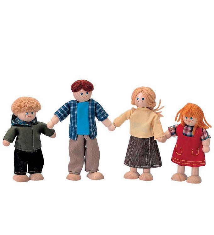 PlanToys Familie - PlanToys Dukke,PlanToys Legetøj,PlanToys Trælegetøj - PlanToys