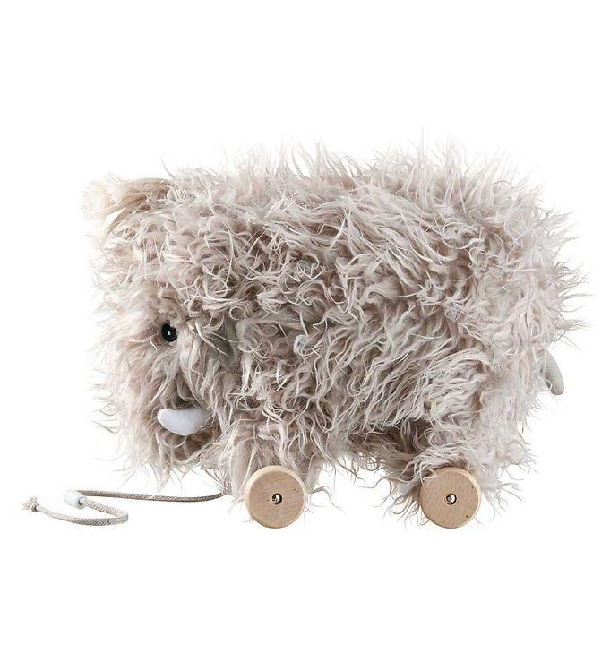 Image of Kids Concept Trækvogn - Mammut - Grå (ØN081)