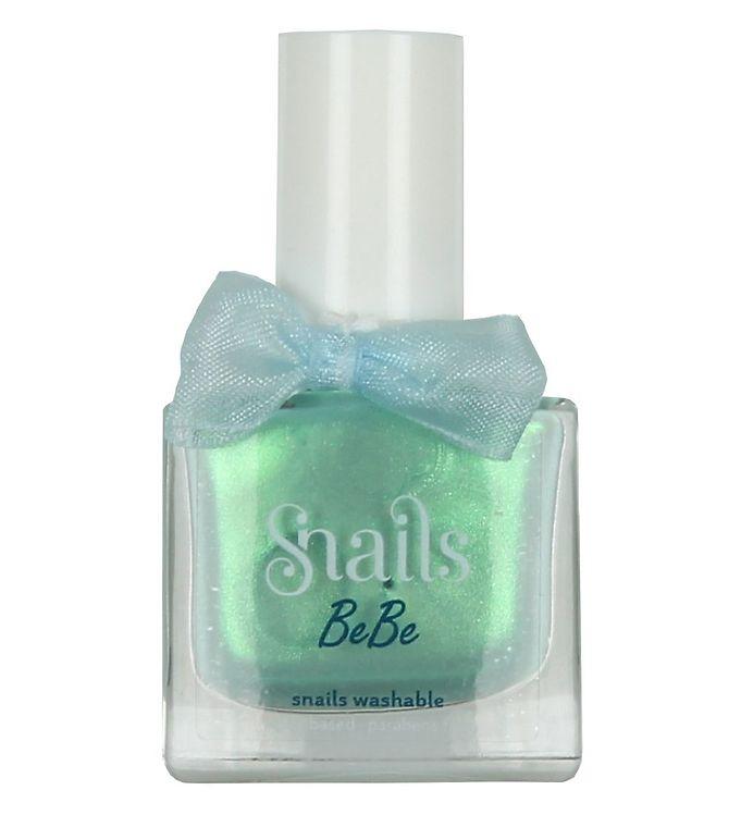Snails Neglelak – Magic Crystal – Turkis m. Glimmer