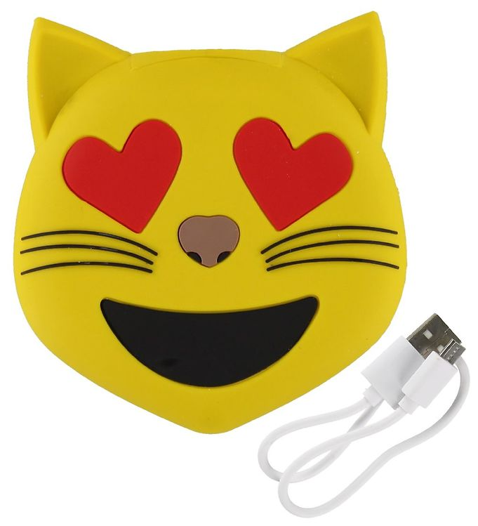 Image of Moji Power Powerbank - Love Cat - 2600mAh (ØN479)