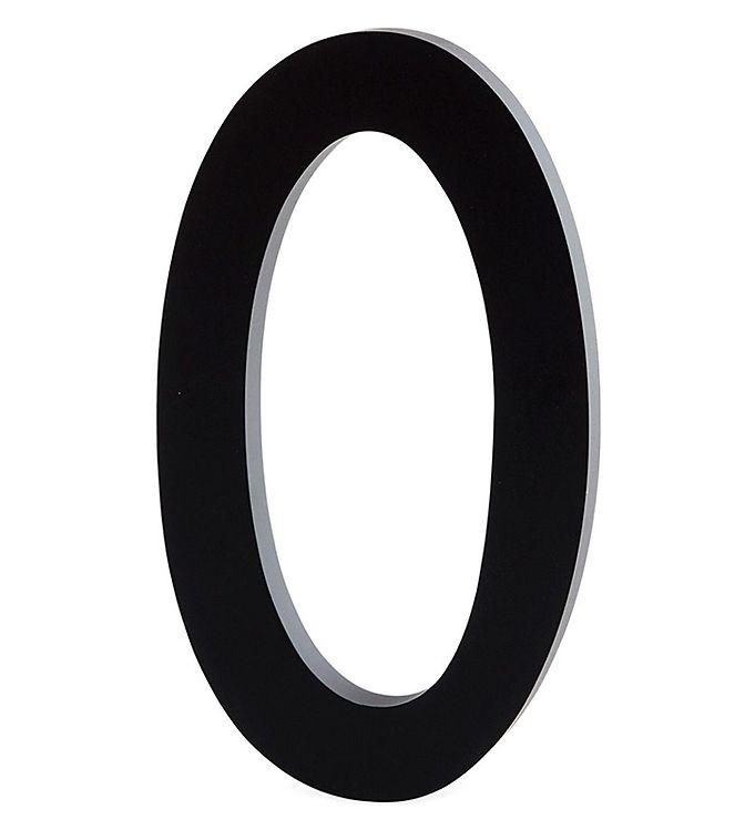 Image of Design Letters Alutal - 0 - Sort (ØN517)