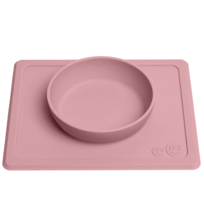 Image of EzPz Happy Mini Bowl - Silikone - Støvet Rosa (ØN897)