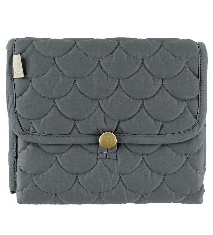 Image of Cam Cam Pusleunderlag - Quilted - Charcoal (ØO008)