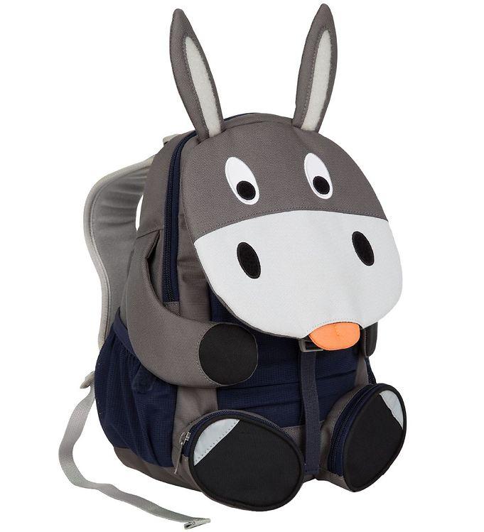 Affenzahn Rygsæk - Stor - Don Donkey - Grå