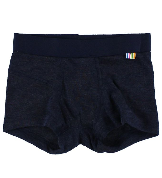 Joha Boxershorts - Uld/Silke - Navy