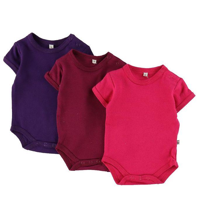 334796eb4 Pippi Body - Assorteret - K/Æ - Fuchsia/Lyserød/Pink   Bodystockings