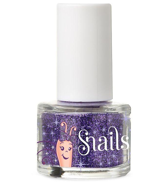 Snails Negleglitter - Mørkelilla