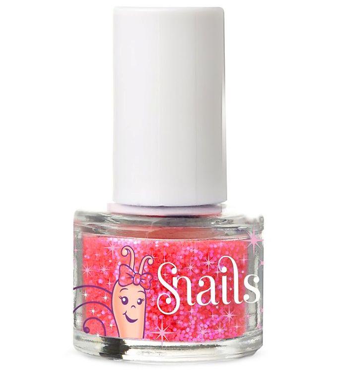 Snails Negleglitter - Pink