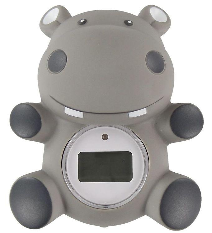 Oopsy Badetermometer - Digitalt - Flodhest