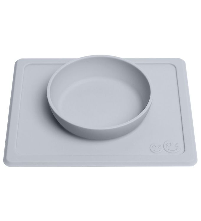 EzPz Happy Mini Bowl – Silikone – Gr?bl?