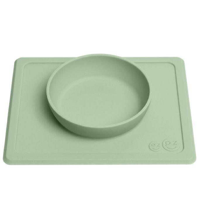 EzPz Happy Mini Bowl – Silikone – St?vet Gr?n