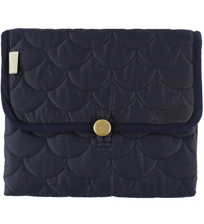 Cam Cam Pusleunderlag - Quilted - Navy