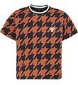 Hummel Teens T-shirt - HMLChick - Navy/Orange m. Tern