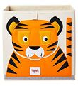 3 Sprouts Opbevaringskasse - 33x33x33 - Tiger