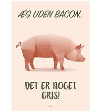 Hipd Plakat - A4 - Pig Bacon