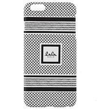 Lala Berlin Mobilcover - iPhone 6+ - Black/White