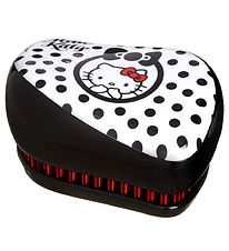 Tangle Teezer Hårbørste - Compact Styler Hello Kitty - Black
