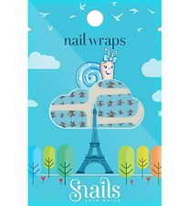Snails Wrap - Blue Stars