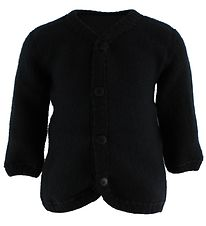 Joha Cardigan - Uld - Sort
