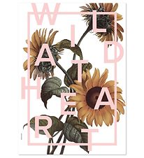 I Love My Type Plakat - A3 - Power Flower - Wild At Heart