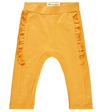 Minymo Sweatpants - York Yellow m. Flæser