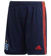 adidas Performance Fodboldshorts - Hamburger SV - Navy/Orange