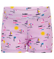 Color Kids Badeshorts - UV40+ - Orchid