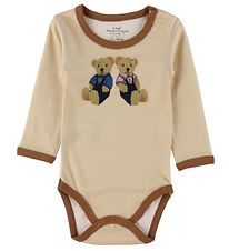 Hust and Claire Body l/æ - Baloo - Beige m. Bamser