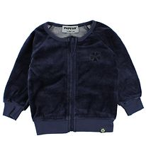 Papfar Velourcardigan - Navy