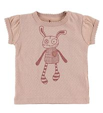 Small Rags T-Shirt - Rosa m. Mr. Rags