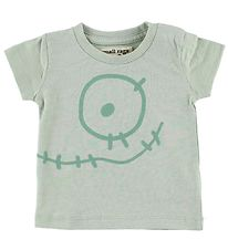 Small Rags T-Shirt - Mint m. Ansigt