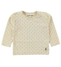 Small Rags Bluse - Creme m. Mr. Rags