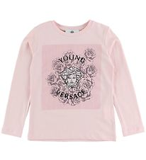 Young Versace Bluse - Rosa m. Medusa