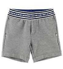 Young Versace Shorts - Sweat - Gråmeleret m. Striber