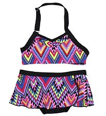 Color Kids Bikini - UV40+ - Tracy - Sort m. Print