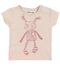 Small Rags T-shirt - Grace - Rosa m. Mr. Rags
